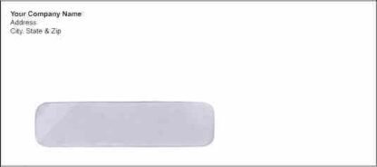 1005 - No. 10 Window Envelope