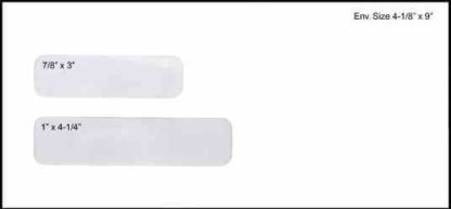 0771 Two Window Envelope