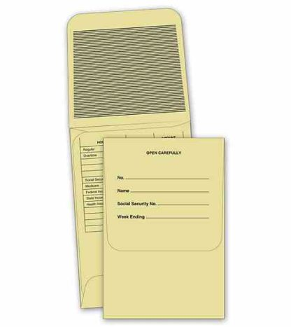 0750 Payroll Envelopes