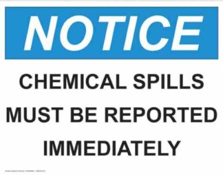 21326 Notice Chemical Spills Must Be Reported