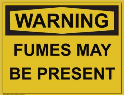 21312 Warning Fumes May be Present