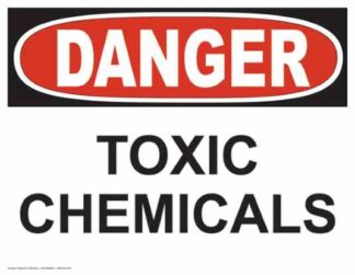 21269 Danger Toxic Chemicals