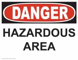 21239 Danger Hazardous Area