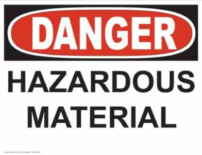21236 Danger Hazardous Material