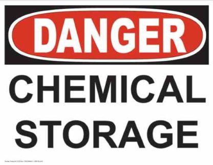 21235 Danger Chemical Storage