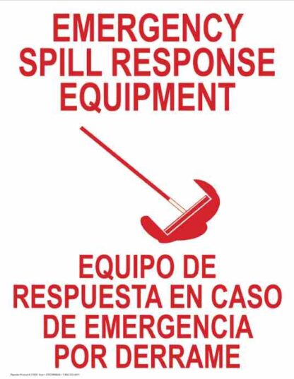 22801 Emergency Spill Response Equipment (Bilingual)