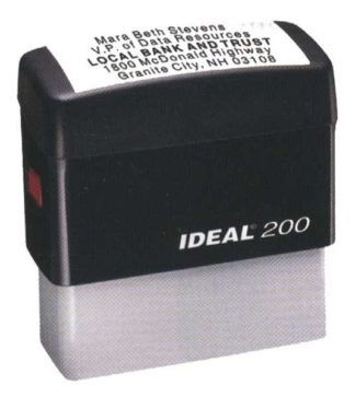 3201 Self-Ink Stamp