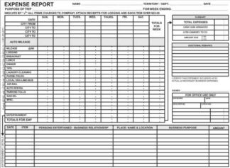 2788 - Weekly Expense Report