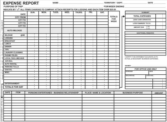 2788 weekly expense report 1 pt crownmax com