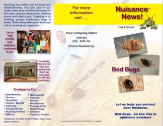 1218 - Commercial Bed Bug Brochure