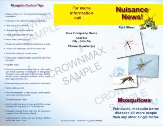 1212 - Mosquitoes Brochure