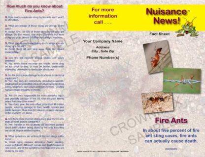 1211 - Fire Ants Brochure