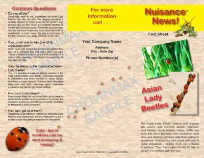 1206 - Lady Beetles Brochure