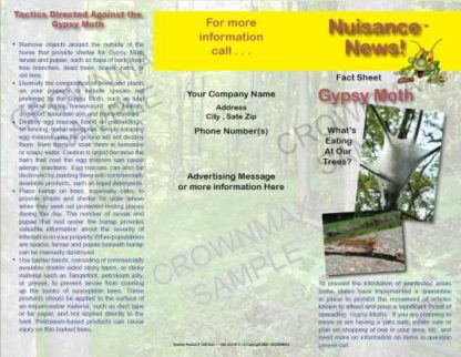 1205 - Gypsy Moths Brochure