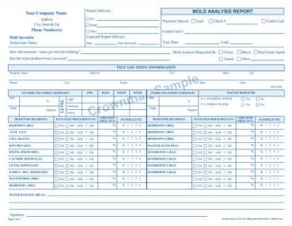 2276 - Mold Analysis Report