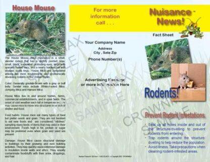 1203 - Rodent Brochure