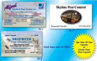 1014 Full Color Business Card 16 Pt.