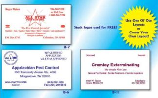 1006 Business Cards 1 Standard Color