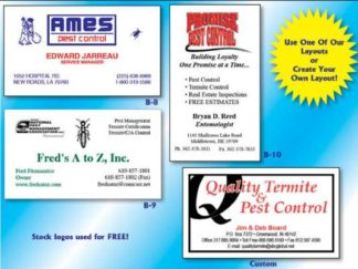 1003 Business Cards 2 Standard Colors