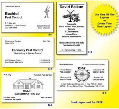 1002 Business Card Budget Card