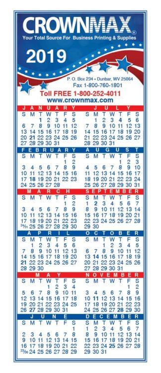 0088 Small Calendar 2019