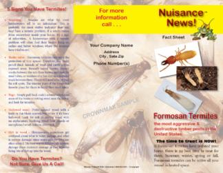 Formosan Termites Brochure