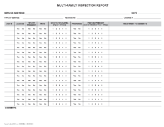 2162 - Multi-Family Inspection Report