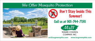 3451 – We Offer Mosquito Protection Brochure